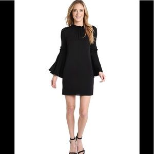 Milly New with tags black silk dress
